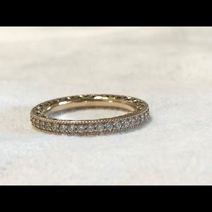 Pandora authentic 14kt gold ring